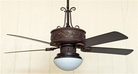 Cooper Canyon Western Star Ceiling Fan Rustic Lighting Western Ceiling Fans