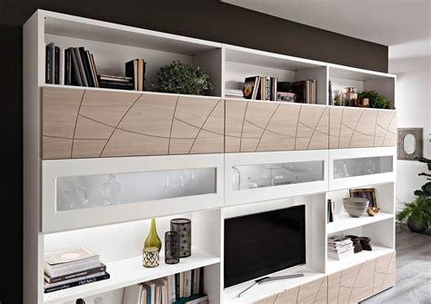 mobili contenitori soggiorno moderni modello lapis mobili living giorno componibili spar
