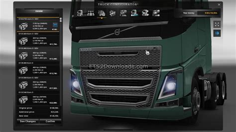 volvo fh16 engine 1150 hp engine for volvo fh16 2012 truck simulator