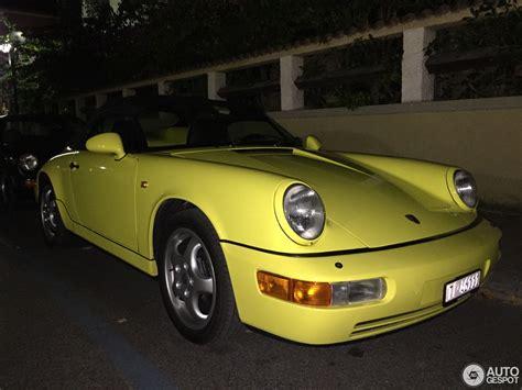 Porsche 964 Speedster by Porsche 964 Speedster 27 Aprile 2016 Autogespot