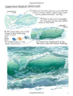 watercolor tutorial books how to paint waves with acrylic paint paintings