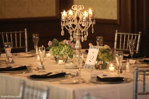 wedding table ideas no flowers inspired i dos candelabra wedding centerpieces