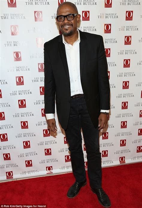 forest whitaker daily mail forest whitaker enjoys a leisurely stroll with his wife