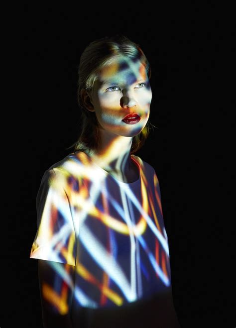 pattern projection photography projection mapping portraits inspiration now