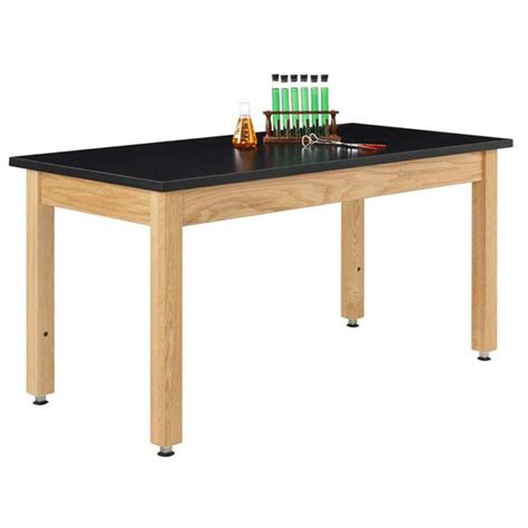 Science Tables by Diverisifed Woodcrafts A7142k Chemguard Top Adjustable