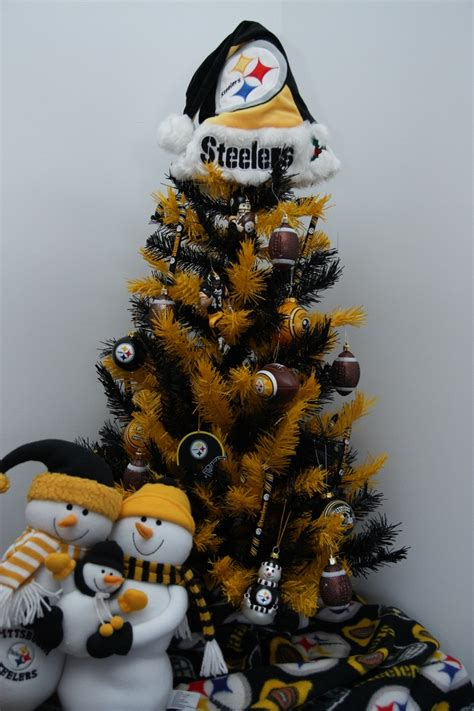 steelers christmas tree steelers pinterest trees