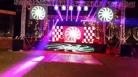 Best dj sounds light led wall n stage system with sharpie