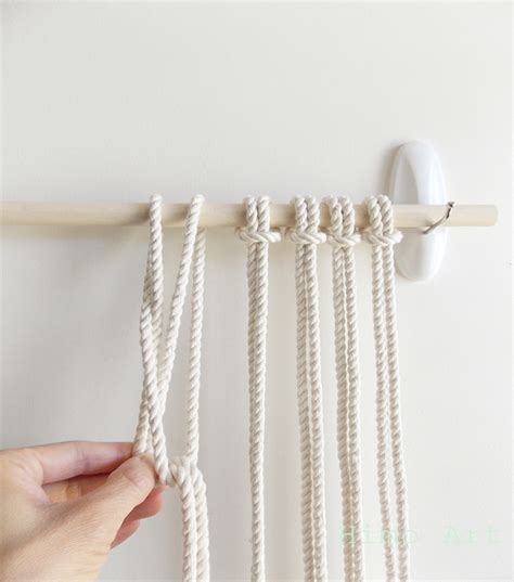 Wall Hanging Tutorial - diy macrame wall hanging 171 a pair a spare