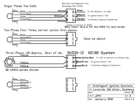 diagram wiring alternator wira