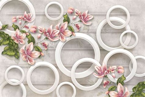 floral wallpaper for walls beautiful abstract floral 3d wallpaper for walls with