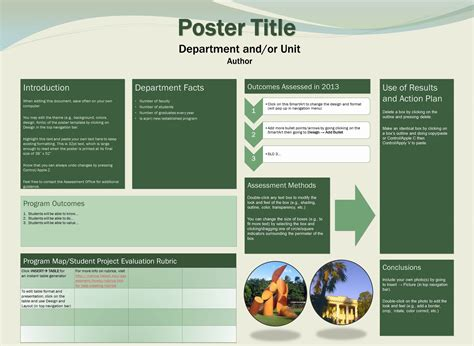 free downloadable poster templates of hawaii at manoa assessment office