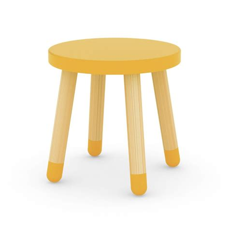 Yellow Stool In Toddlers by Child Stool Yellow Flexa Play Design Children