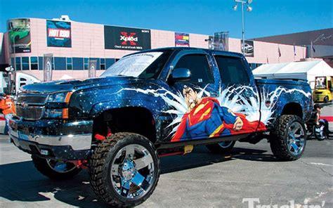 superman truck custom paint superman photo 3 custom paint