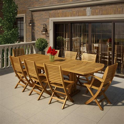 Patio Table And Chairs Furniture Folding Wooden Outdoor Chairs Doors Folding