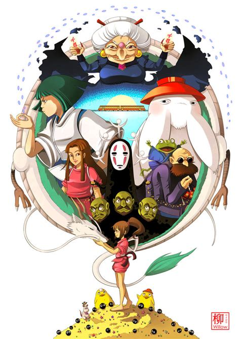 spirited away by willow san on deviantart
