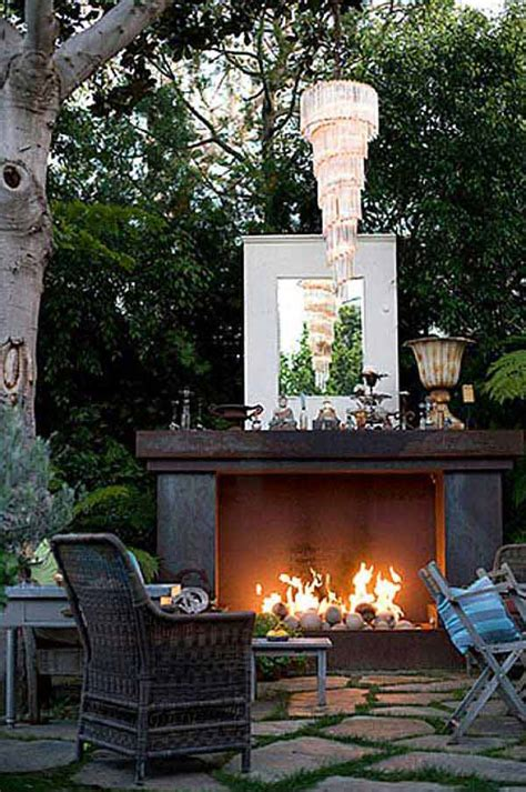 outdoor fireplace patio designs christmas decorating mantels ideas who pays for white house top 16 attractive ways to decorate your outdoor space with