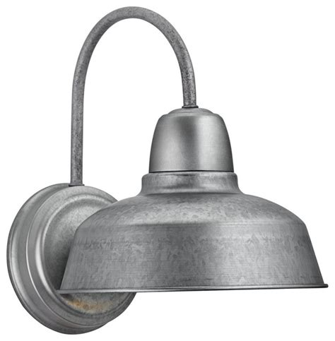 barn 13 quot high galvanized outdoor wall light