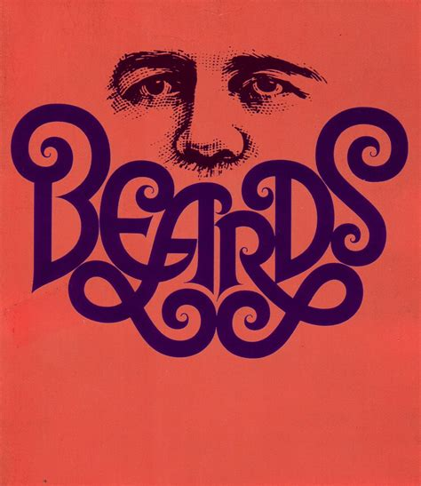 typography type beards by herb lubalin master