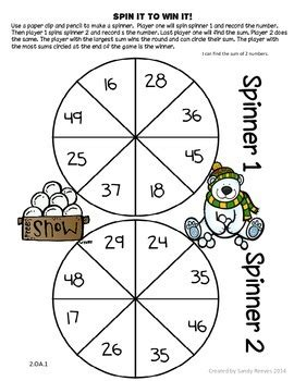 Printable Addition Games With Regrouping | freebie two digit addition and subtraction with regrouping