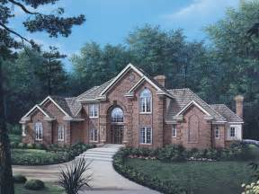 home house plans briarcrest luxury two story home plan 006d 0002 house plans and more