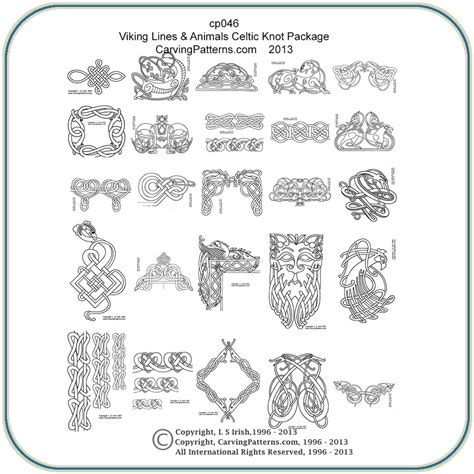 viking celtic lines patterns classic carving patterns