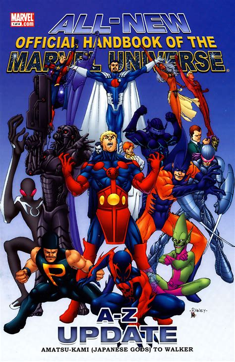 marvel classics comics vol 1 1 marvel database fandom powered by wikia all new official handbook of the marvel universe update vol 1 1 marvel database fandom