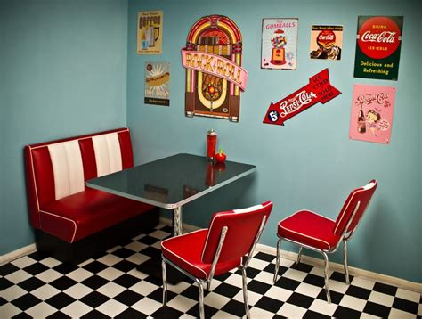 American Diner Decorations by 50s Diner Signs 50 S Diner