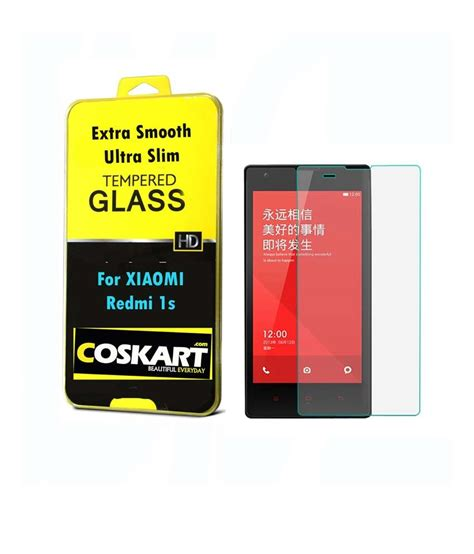 xiaomi redmi 1s antiglare screen guard by coskart buy