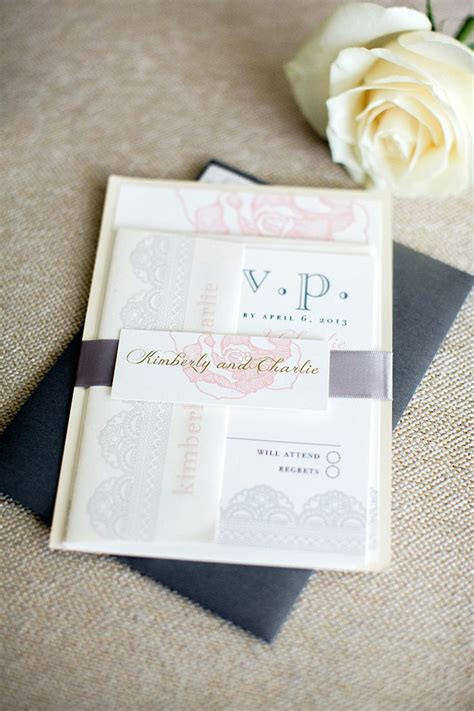 Invitation To Our Wedding