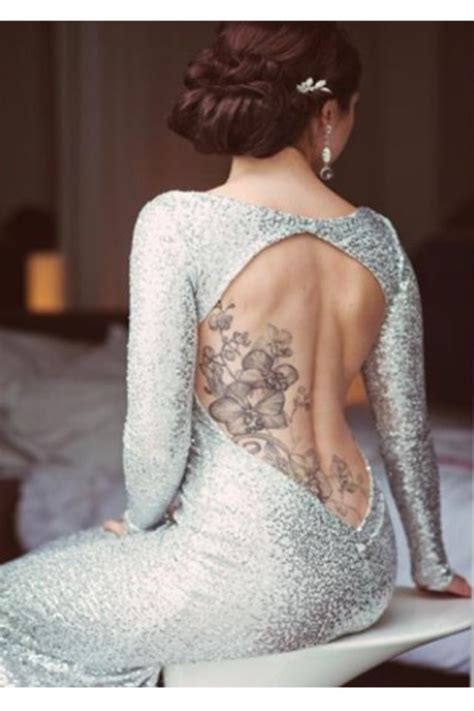 back tattoo what to wear pin by leanne northcutt on wedding dresses attire looks