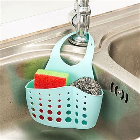 Sponge Holder For Kitchen Sink Kitchen Sink Sponge Holder Bathroom Hanging Strainer Organizer Storage Rack Us Ebay