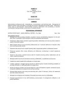 Sle Resume For Administrative Assistant Skills by Resume Administrative Assistant Sales Assistant Lewesmr