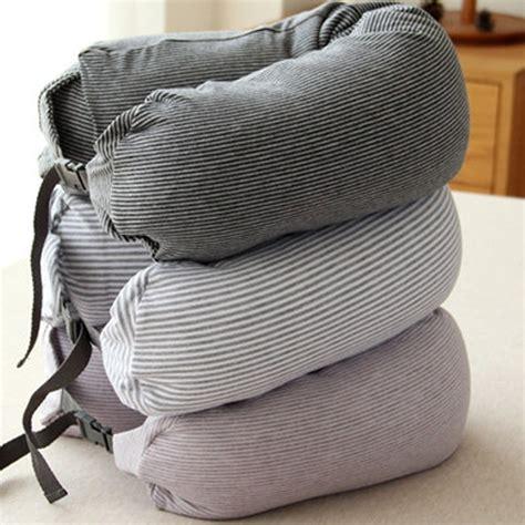 u shape travel neck pillow cotton pillows massager