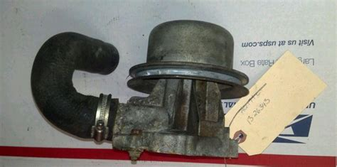 find volvo penta aqc     cylinder water pump fresh water motorcycle  rochester
