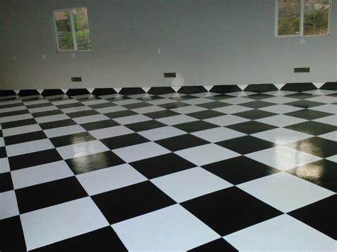 White And Black Garage Floor Paint : Iimajackrussell