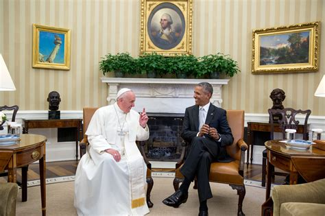 white house office in photos pope francis visits the white house whitehouse gov