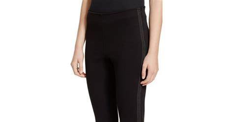 Legging Polos T3009 1 polo ralph soutache trim tuxedo legging in black polo black lyst