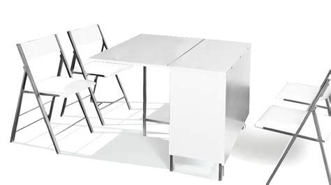 table modulable et relevable avec chaises hub mobilier