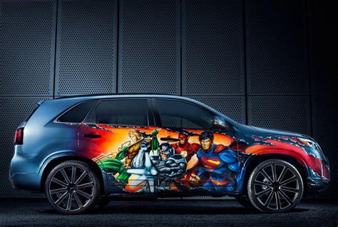 Kia Washington Dc Justice League Kia Sorento By Dc Entertainment