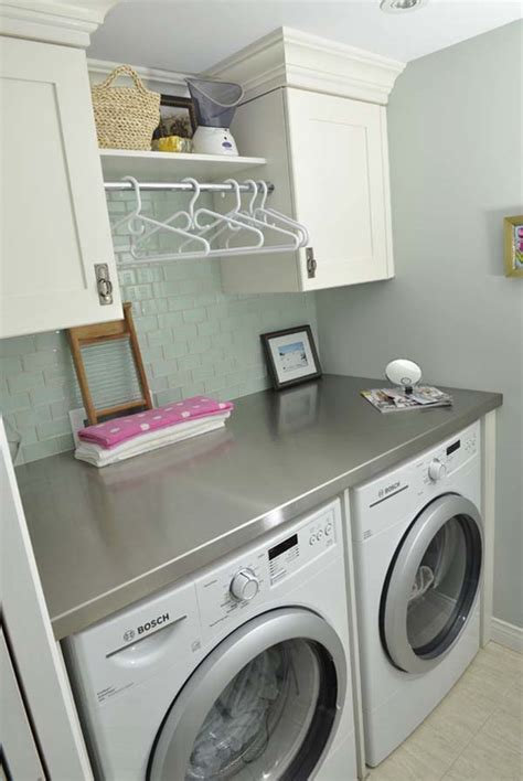 Inspiring Ideas For Small Laundry Room 7 Small Laundry Small Laundry Room Cabinet Ideas