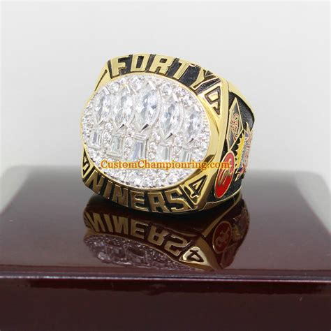 chargers 49ers bowl 1994 bowl xxix san francisco 49ers chionship ring