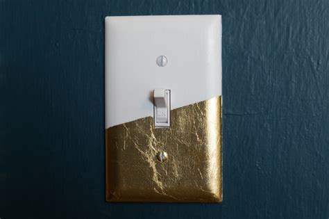 diy light switch covers diy gold leaf light switch cover hearts