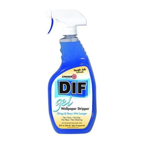 zinsser 32 oz dif gel wallpaper spray 2466 the