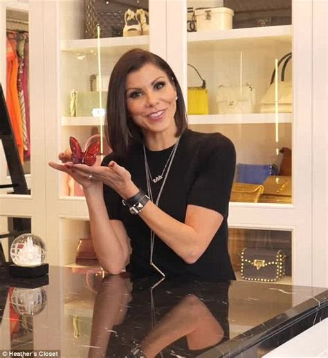 heather dubrow new house youtube heather dubrow debuts new web series offering a tour of her lavish walk in wardrobe daily mail