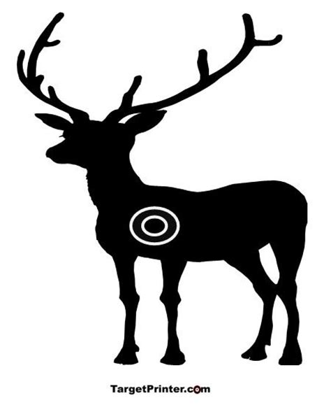 printable deer shooting targets pinterest the world s catalog of ideas