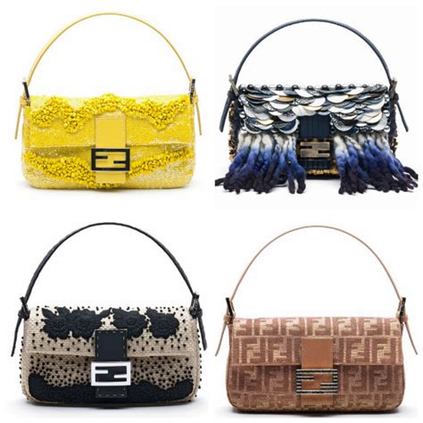 Fendi 10th Anniversary Baguette by Fendi S Iconic Baguette Celebrates 15th Year Anniversary