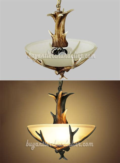 Rustic Chandelier Lighting Fixtures Antler Semi Flush Chandelier 3 Ceiling Lights Rustic Style Lighting Buyantlerchandelier