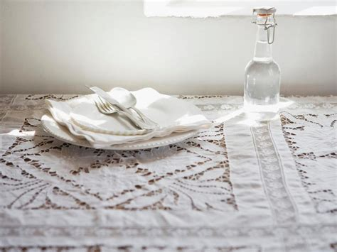 vintage shabby chic tablecloths hgtv