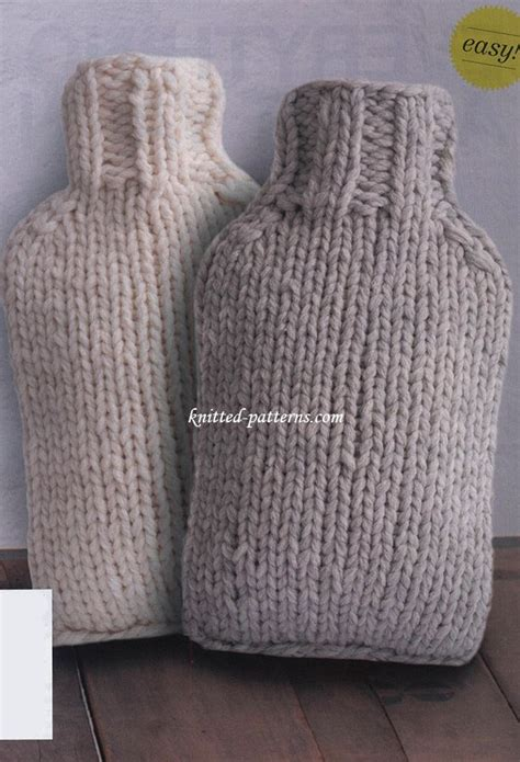 knit cover pattern 25 best ideas about water bottles on