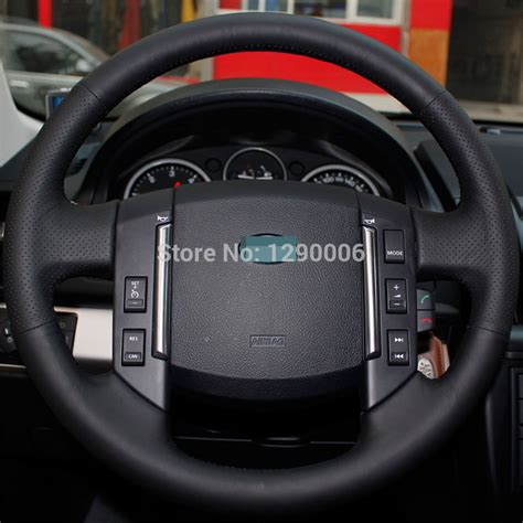land rover steering wheel cover black leather steering wheel cover for land rover 2007